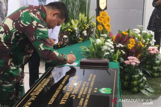 Pangdam Jaya resmikan gedung baru RS Bhakti Mulia Jakarta Barat