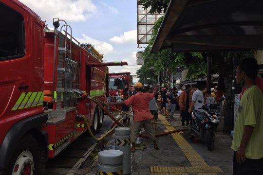 Rumah indekos terbakar di Jakarta Timur
