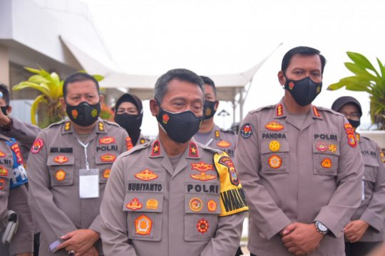 Wakapolda Lampung instruksikan perketat penjagaan markas polisi