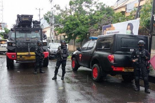 Tim gegana amankan paket kardus misterius di Kota Makassar