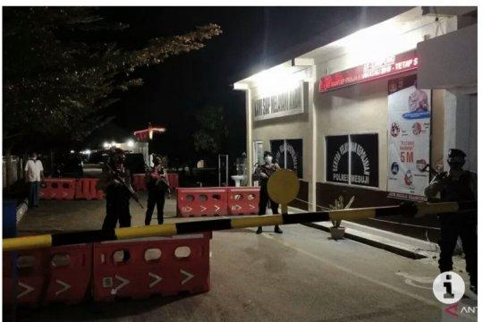 Polres Mesuji Lampung tingkatkan pengamanan markas polisi