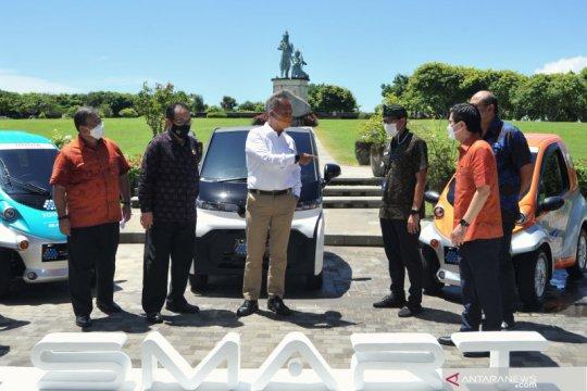 Kemenparekraf dukung pengoperasian kendaraan listrik di kawasan wisata