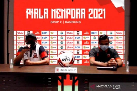 Pelatih Madura United ingatkan pemain lebih tenang saat hadapi Persela
