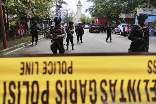 Densus kembali amankan satu terduga teroris di Makassar