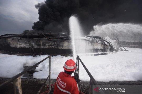 Api telah padam, Pertamina segera operasikan kembali Kilang Balongan