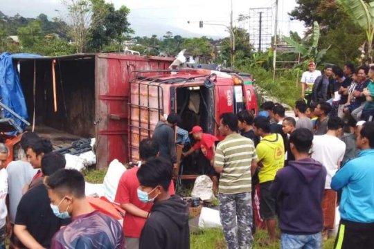 Tabrakan beruntun di Wonosobo akibatkan satu korban tewas
