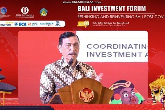 Ajak negara mitra berinvestasi, Luhut promosi diversifikasi ekonomi Bali