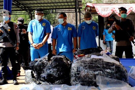 BNNP Kalbar gagalkan penyelundupan narkoba asal Chin