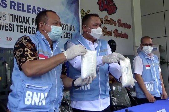 BNNP Sultra ringkus pengedar sabu jaringan Samarinda