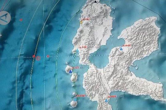 Gempa 5,3 magnitudo guncang Ternate, akibat sesar lokal