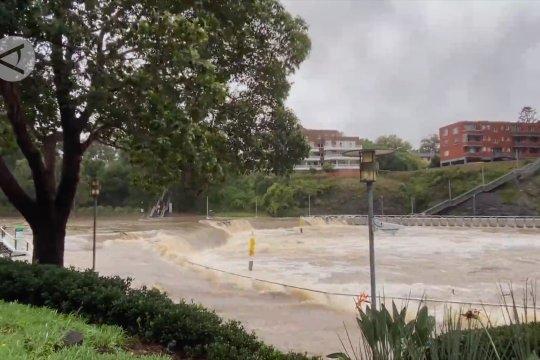 NSW Australia dilanda cuaca ekstrem dengan rekor curah hujan tertinggi