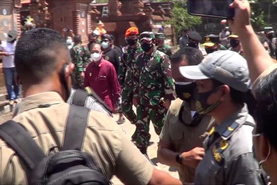 Panglima TNI dan Kapolri siap bantu percepatan vaksinasi di Bali