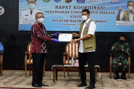 Kepala BNPB bentuk Satgas COVID-19 perbatasan Indonesia - Malaysia