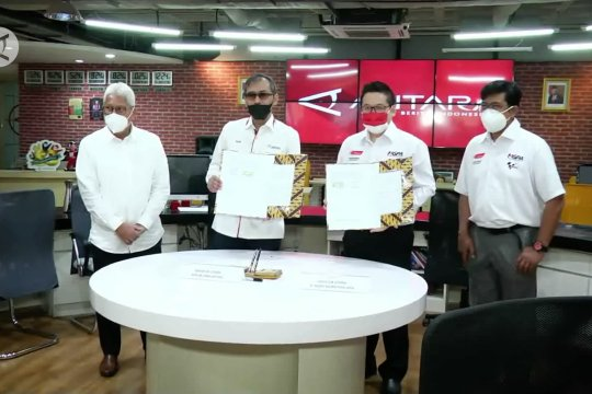 LKBN Antara jadi official media Moto GP Mandalika