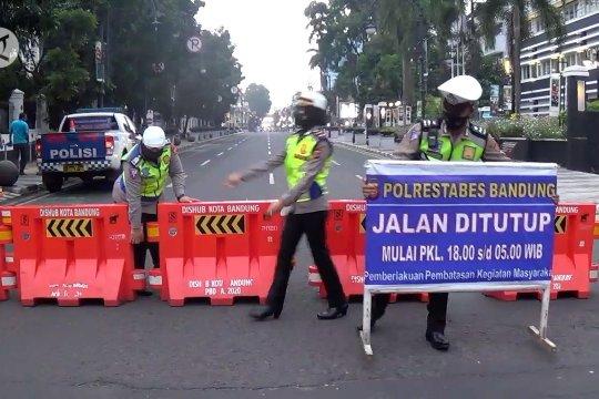 PPKM efektif, tidak ada lagi zona merah di Bandung
