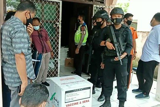 Jambi terima 250 vial vaksin AstraZeneca untuk TNI dan Polri
