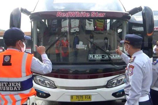 Libur panjang, Terminal Leuwipanjang uji kelaikan bus