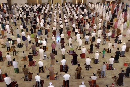 Masjid Al Akbar Surabaya gelar tarawih untuk 5 ribu jamaah