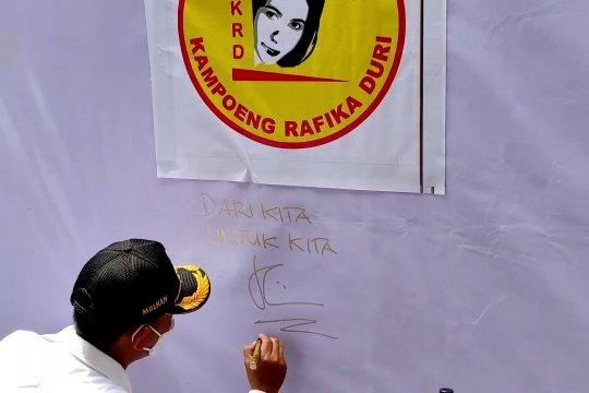 Kampung Rafika Duri, pusat promosi ribuan produk UKM dan IKM Bangka