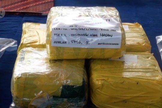 BNNP Jabar ungkap 7,8 kilogram sabu asal Aceh