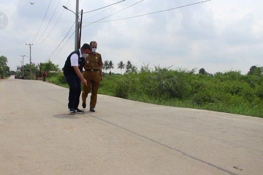 Jalan trans-perkampungan Palembang resmi dibuka