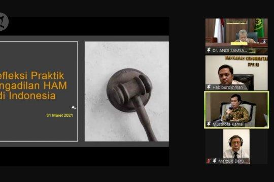 Komnas HAM soroti mekanisme pembentukan pengadilan HAM ad hoc