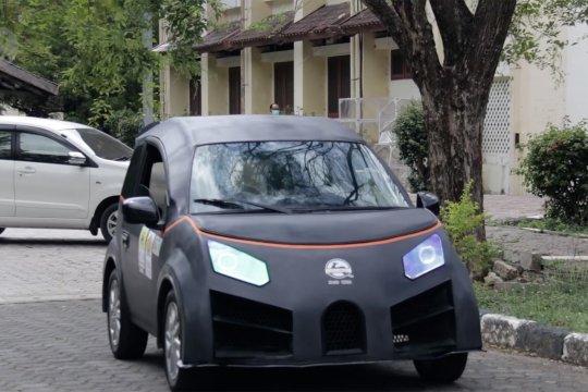 Menjajal Glueh, mobil listrik buatan mahasiswa Aceh