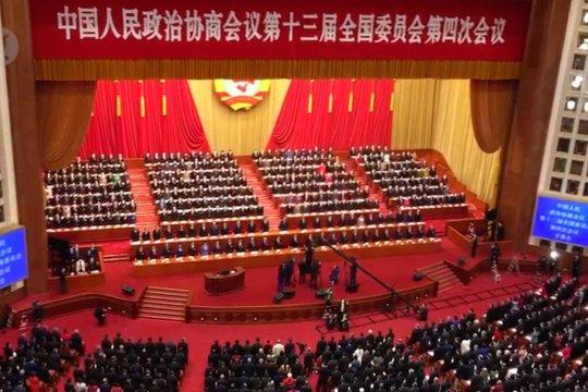 Menyaksikan sidang parlemen terbesar di dunia