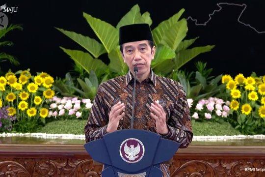 Presiden Jokowi buka Kongres XXXI HMI tahun 2021