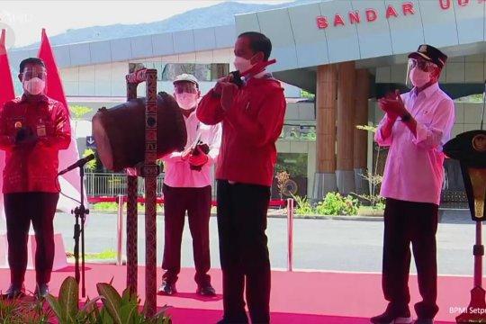 Saat Presiden mulai operasikan Bandara Toraja