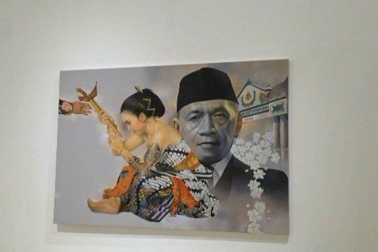 Sosok Sultan Hamengku Buwono IX dalam lukisan 37 seniman