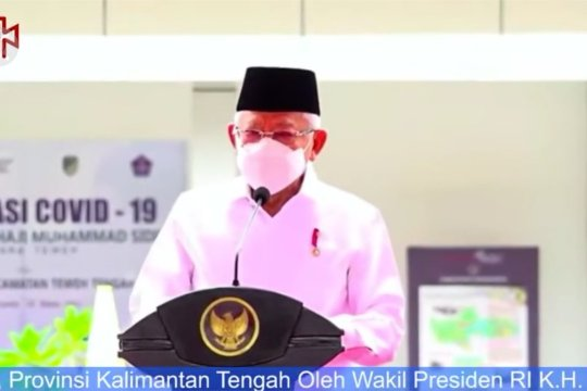 Wapres resmikan Bandara Haji Muhammad Sidik di Kalteng