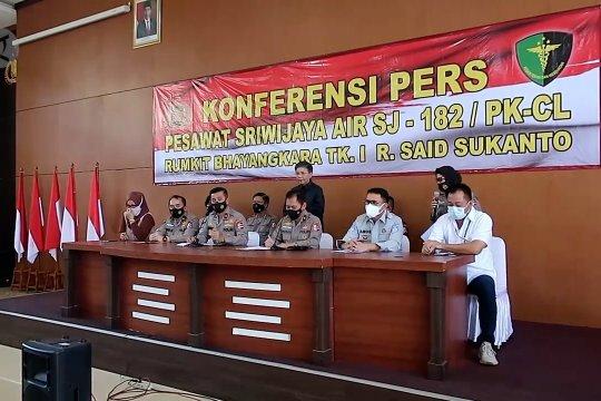 59 korban Sriwijaya Air SJ182 telah teridentifikasi