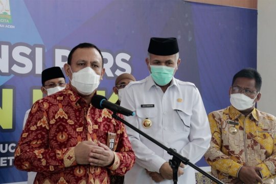 KPK minta Pemprov Aceh dapat mempertanggungjawabkan dana otsus