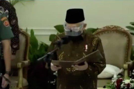Wapres lantik pengurus baru Masyarakat Ekonomi Syariah