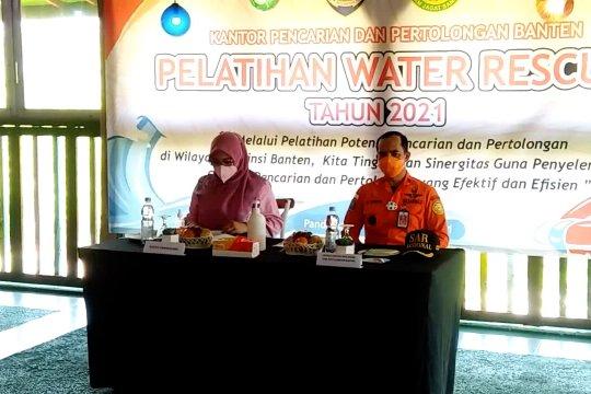 Basarnas Banten gelar pelatihan pertolongan di air