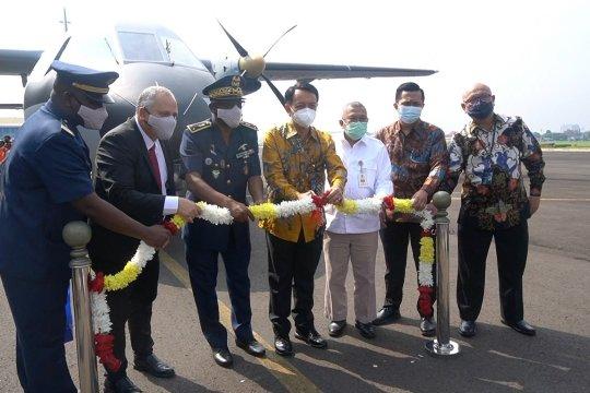 PT DI lepas Ferry Flight pesawat CN235-220 MPA ke Senegal