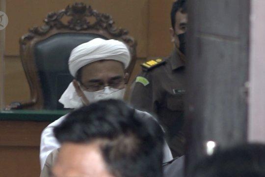 Sidang lanjutan Rizieq Shihab akan digelar secara tatap muka
