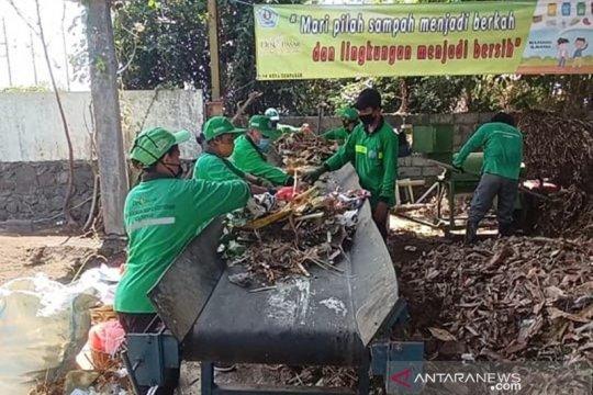 Diolah dari serasah, Riau produksi 2 ton kompos dari sampah organik