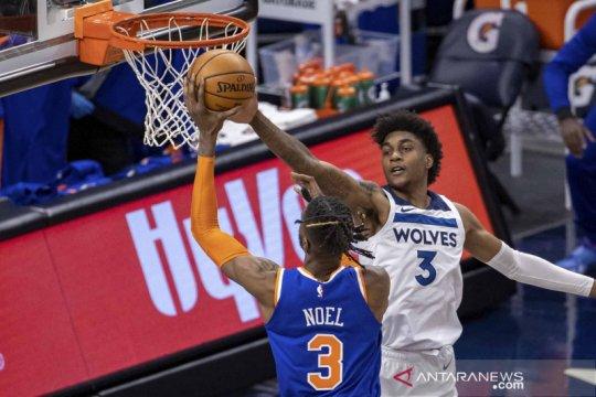 NBA: Timberwolves menang tipis atas Knicks 102-101