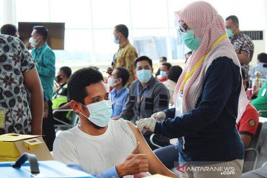 94.860 orang di Lampung jalani vaksinasi tahap dua