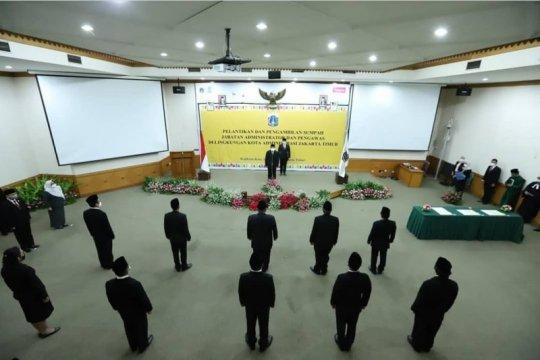 Wali Kota Jakarta Timur lantik 16 pejabat baru