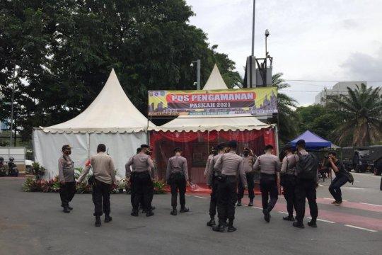 TNI-Polri tambah personel untuk pengamanan Katedral