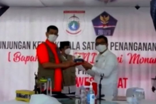 Bantuan hunian gempa Sulbar cair Rp2 miliar