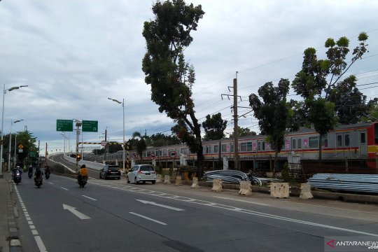 Bina Marga DKI uji coba jalan layang Lenteng Agung-Tanjung Barat