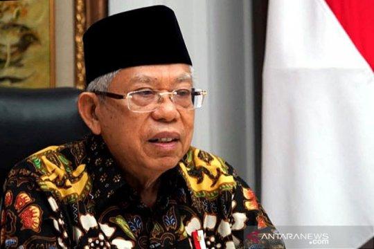 Ma'ruf Amin minta tokoh agama terus jaga kerukunan antarumat