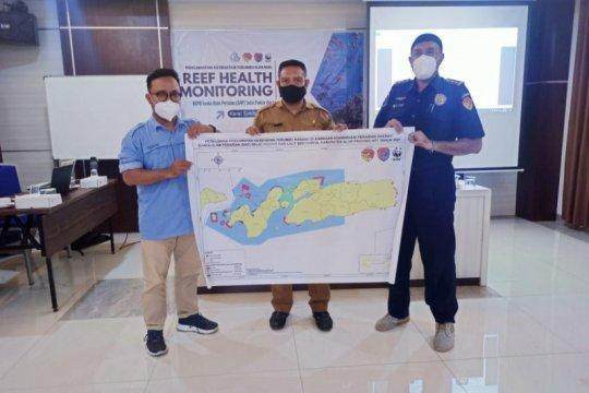 Tim gabungan DKP gelar pemantauan kesehatan terumbu karang SAP Alor