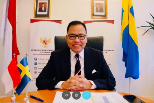 Indonesia-Swedia sepakat tingkatkan kerja sama ekonomi