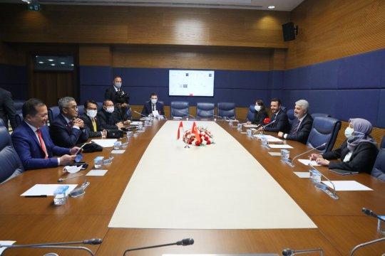 Temui parlemen Turki, anggota DPR RI dorong perdagangan bebas