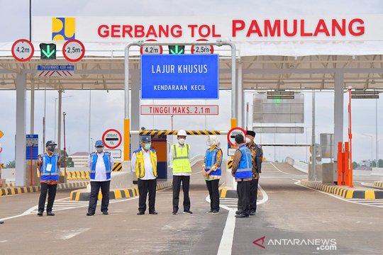 Wali Kota Tangsel harap Tol Serpong-Pamulang tingkatkan ekonomi daerah
